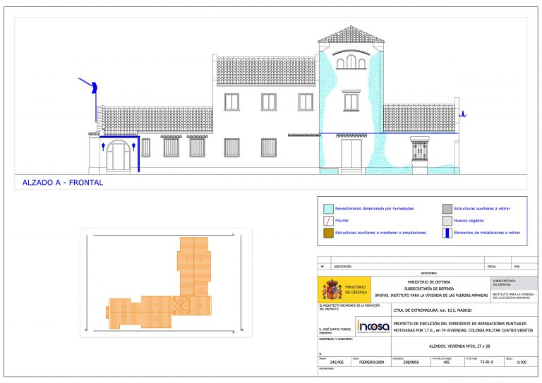 Rehabilitación de 74 viviendas en Cuatro Vientos